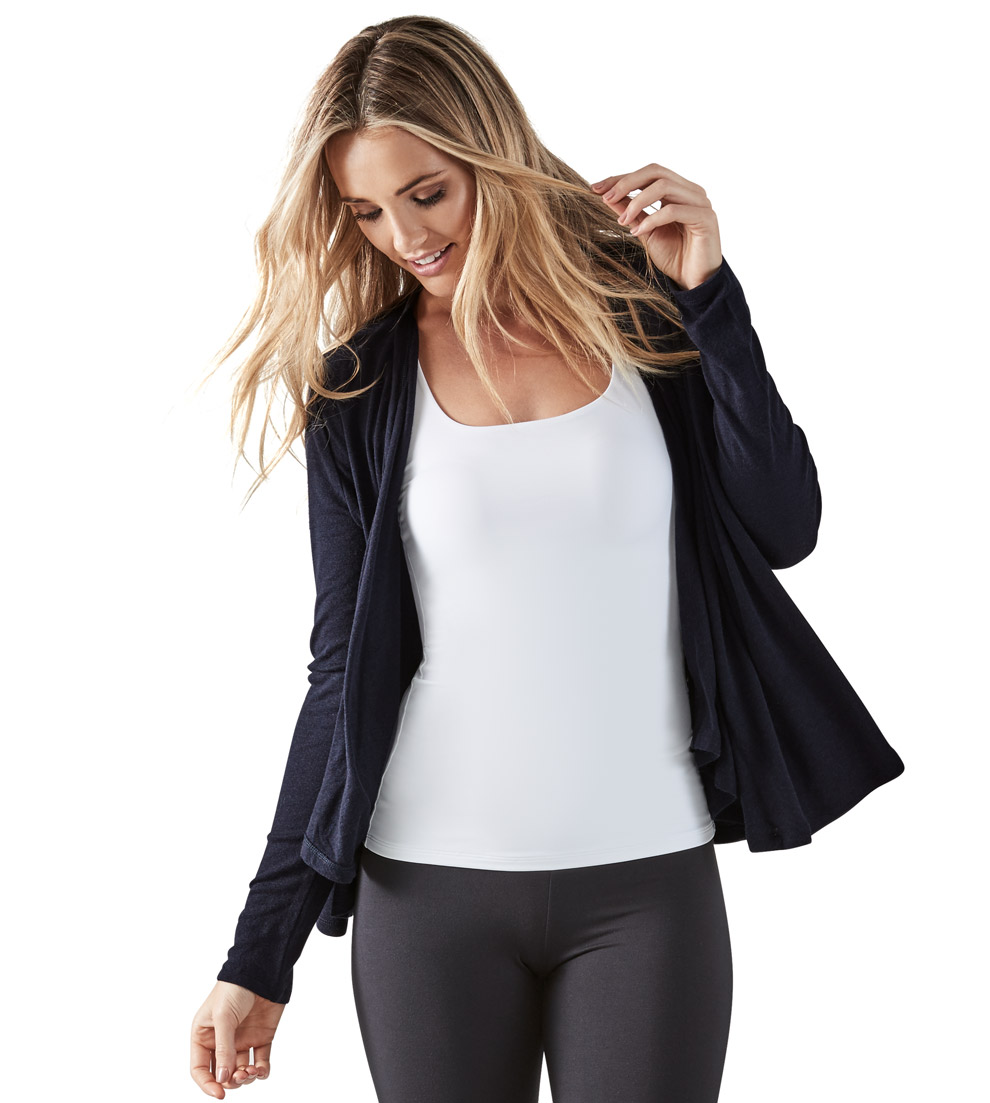 2019 year lifestyle- Front drape cardigan how to wear